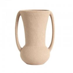 Vase en grès couleur sable Nordal