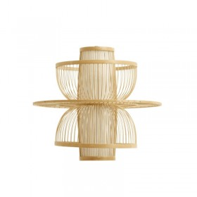 Suspension en bambou naturel