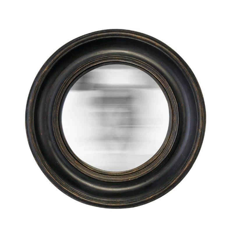 Miroir verre convex diamètre 26 cm