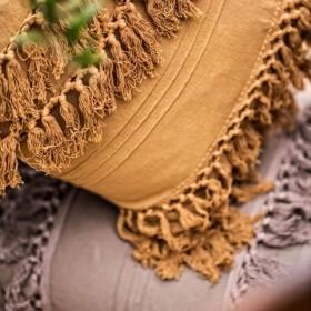 Coussin coton Palmas 45 X 45 cm