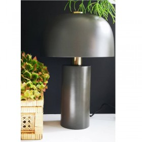Lampe à poser métal design Lulu anthracite