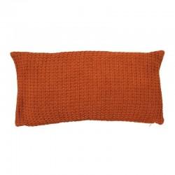 Coussin orange 60 X 30 cm
