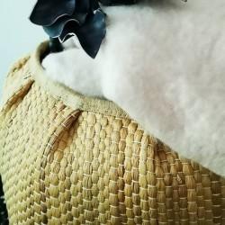 Cache pot en fibres naturelles Bloomingville