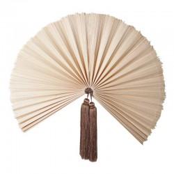 Eventail en bambou naturel