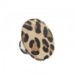 Patère léopard Ø 9 cm