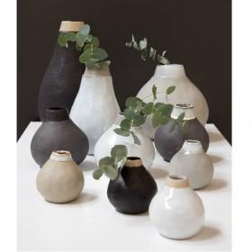 Vase soliflore Gina en grès fait main
