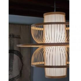 Suspension bambou hauteur : 39 cm
