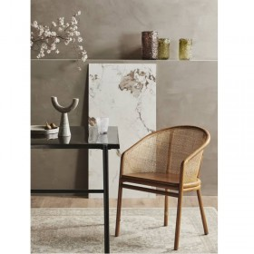Chaise Mosso Nordal Interiors cannage naturel brun clair