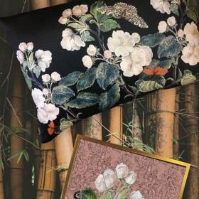 Coussin Vanillafly motifs floraux