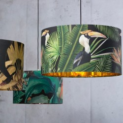Lampes 100 % lin Birds of paradise