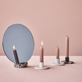 Miroir design Alberto Bellamoli pour Lucie Kaas